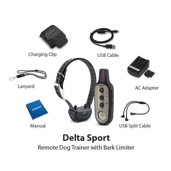Collar de adiestramiento Garmin Delta Sport