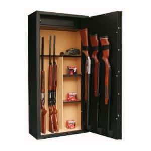 Armero 11 + 3 Armas con visor + caja interior + estantes móviles