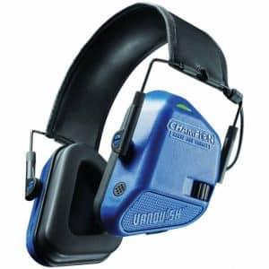 Cascos electrónicos Champion Vanquish - azules