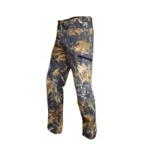 Pantalón con protección camu Selva