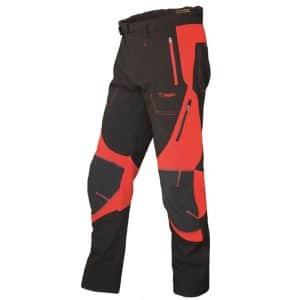 Pantalón soft shell rojo/negro