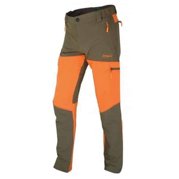 Pantalón marrón-naranja volga