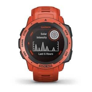 Reloj Garmin Instinct Solar Rojo
