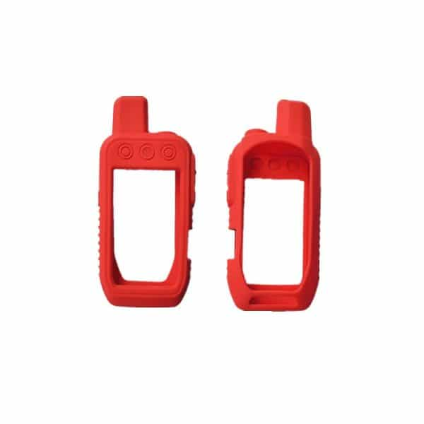 Funda de silicona Garmin Alpha 200 Rojo
