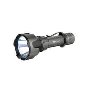 Linterna LED recargable Warrior X Turbo 1.100 lum. Gris metal Olight
