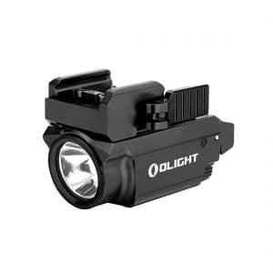Linterna para arma con láser rojo Baldr RL Mini 600 lum. Olight