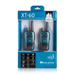 Walkie-talkie XT60 Midland alcance 10 Km
