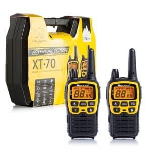 Walkie-talkie XT70 Midland alcance 12 Km